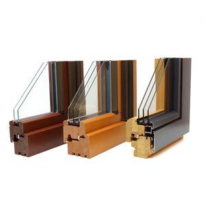 okna drewniane ialuminiowe