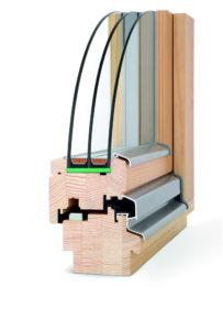okno drewniane Capital