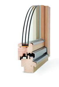 okno drewniane Plus
