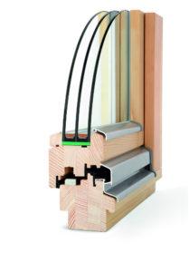 okno drewniane Solar